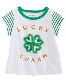 Baby Girls Lucky Charm-Print T-Shirt, Created for Macy's