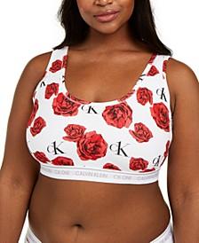 CK One Plus Size Cotton Bralette QF5950