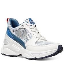 Mickey Trainer Wedge Sneakers