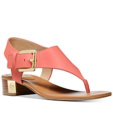 London Thong Block Heel Sandals