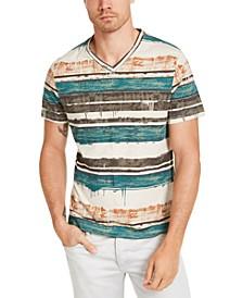I.N.C. Men's Visco Stripe T-Shirt, Created for Macy's