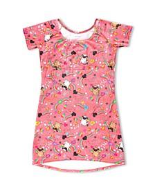 Big Girls Luxe Velvet Pugicorn Dress