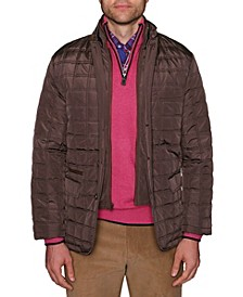 Men's Big and Tall Classic Quilted Jacket