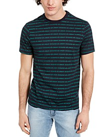 Men's Repeating Logo Stripe T-Shirt