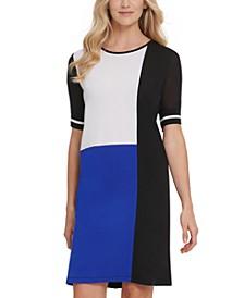 Colorblocked T-Shirt Dress