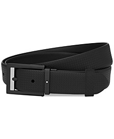 Men's Self-Adjusting Leather Belt