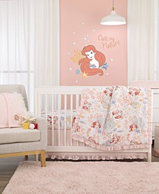 The Little Mermaid 6-Piece Crib Bedding Set