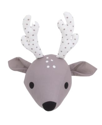 Deer Plush Head Wall Décor