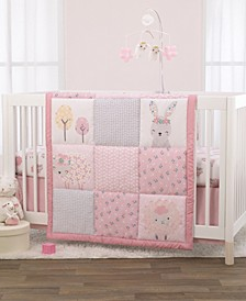 NoJo Farm Chic Little Lambs 3-Piece Crib Bedding Set