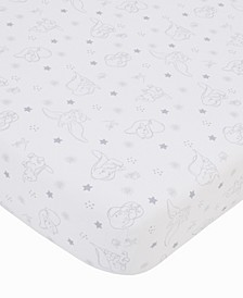 Disney Dumbo Fitted Crib Sheet