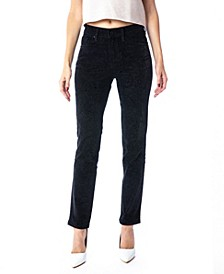 High Rise Ankle Skinny Straight