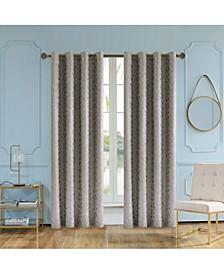"Simone Lined Room Darkening Curtain, 84"" L x 54"" W"