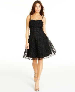 80s Dresses | Casual to Party Dresses Betsey Johnson Bow-Trim Fit  Flare Dress $63.13 AT vintagedancer.com