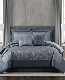 5th Avenue Lux Coventry 7-Piece Queen Bedding Set
