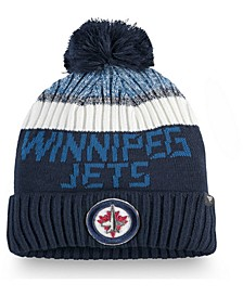Winnipeg Jets Authentic Pro Rinkside Goalie Pom Knit Hat