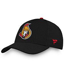 Authentic NHL Headwear Ottawa Senators Authentic Pro Rinkside Flex Cap