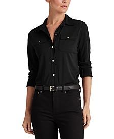 Lauren Ralph Lauren Matte Jersey Shirt