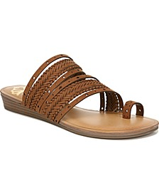 Tatum Toe Thong Wedge Sandals