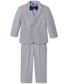 Baby Boys 4-Pc. Oxford Suit Set