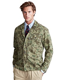 Men's Classic-Fit Camo Shirt