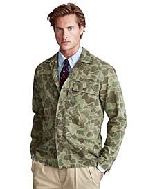Men's Classic-Fit Camo Shirt Jacket