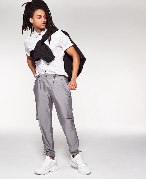 INC International Concepts INC Men's Onyx Cargo Pants, Created For Macy's