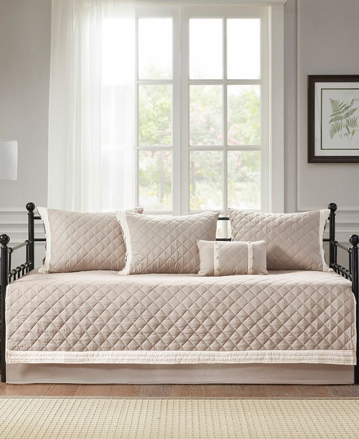 Madison Park - Breanna 6 Piece Cotton Daybed Cover Set