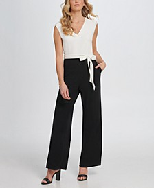 Jumpsuit with Shoulder Detail