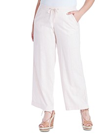 Trendy Plus Size Nara Pull-On Pants