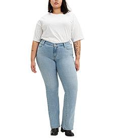 Levi's® Trendy Plus Size Classic Straight-Leg Jeans