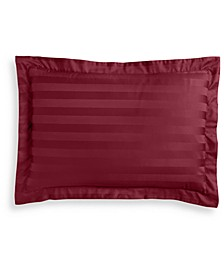 Stripe Cotton 550-Thread Count Standard Sham, Created for Macy's
