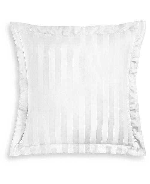 Charter Club Stripe Supima Cotton 550-Thread Count European Sham, Created for Macy's