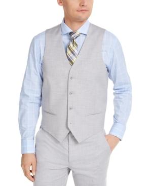 Alfani Men's Classic-Fit Stretch Solid Suit Vest, Created for Macy's