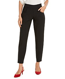 Travel Skimmer Side-Zip-Pocket Leggings