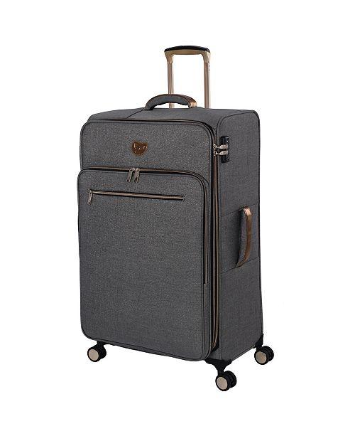 "it Girl 32"" Glisten Softside Semi-Expandable Spinner Suitcase"
