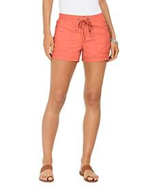 Poplin Tie Shorts, Created for Macy's