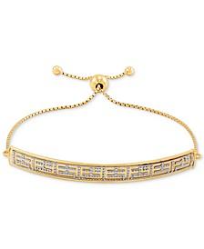 EFFY® Two-Tone Logo Bolo Bracelet in 14k Gold