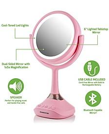 Vanity Mirror with Speaker