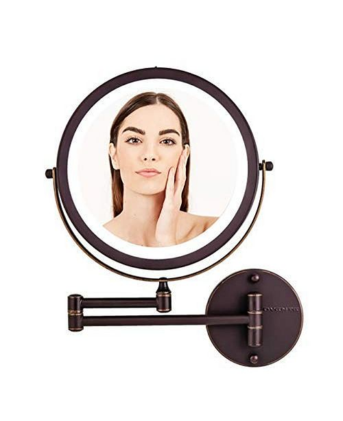 """OVENTE 8.5"""" Wall Mount Mirror"""