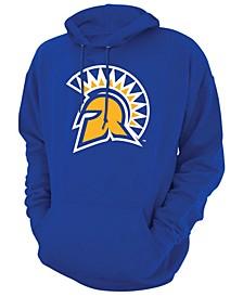 Men's San Jose State Spartans Screenprint Big Logo Hooded Sweatshirt