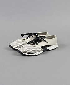 Cutout Mesh Sneaker