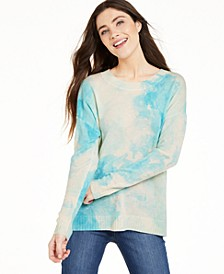 Tie-Dye Cashmere Sweater, Created for Macy's