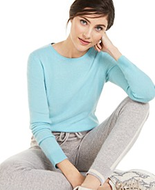Crew-Neck Cashmere Sweater, Regular & Petite Sizes, Created for Macy's