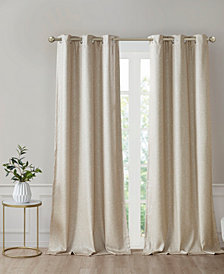 Como Faux Silk Total Blackout Curtain Collection