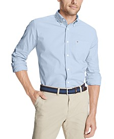 Men's Capote Classic-Fit Stretch Solid Shirt
