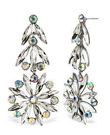 Accessories Retro Stone Statement Earrings