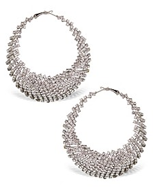 Accessories Exaggerated Stone Hoops