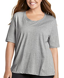 Plus Size Cotton Pajama T-Shirt