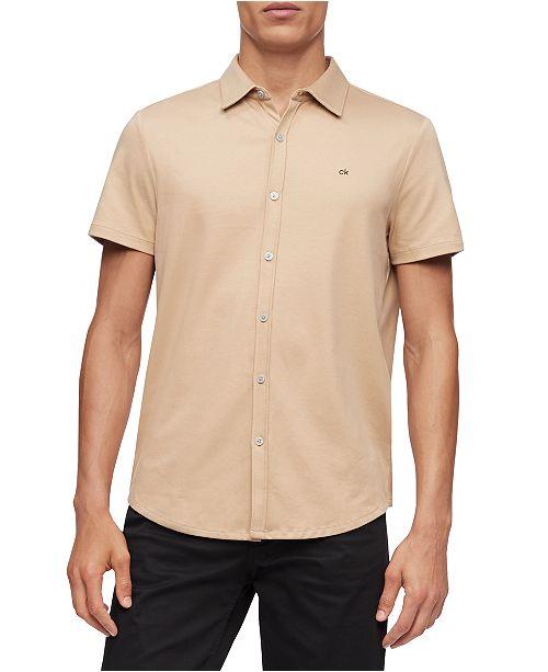 Calvin Klein Men's Liquid Knit Shirt