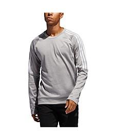 Men's Adidas Own The Run 3 Stripe Crew